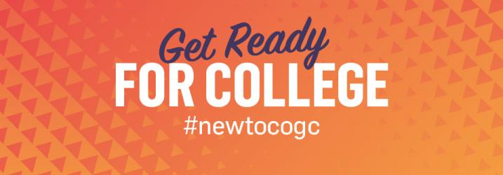 Get Ready for College graphic.
