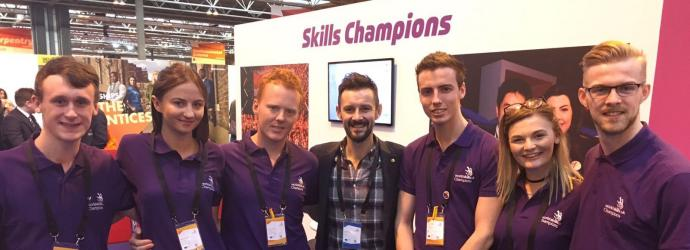 WorldSkills UK Champions