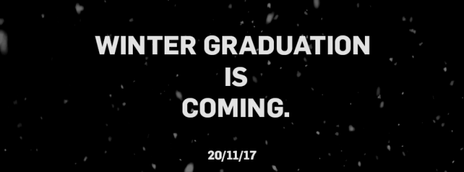 Winter Graduation is Coming