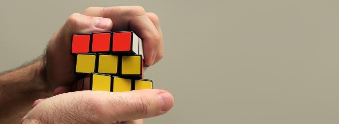 Rubix cube photo