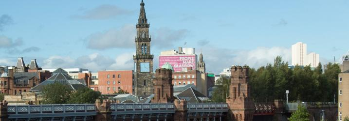 View from the college of the Clyde